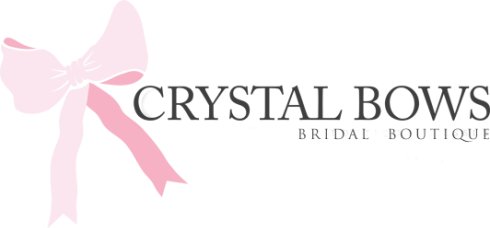 Crystal Bows Bridal Wear