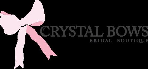 Crystal Bows Bridal Wear