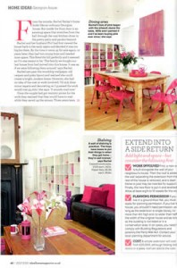 The Paper Florist - showcased in the Ideal Home Magazine July 2010 edition